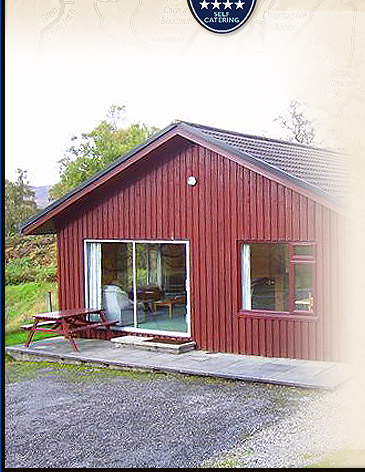 Four Star Loch Ness Self Catering Accommodation Lodges near Inverness in the Highlands of Scotland and Drumnadrochit